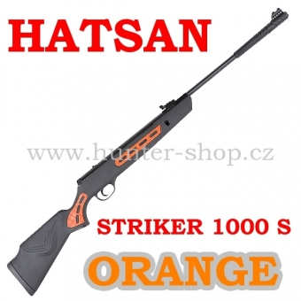 Vzduchovka Hatsan STRIKER 1000 S ORANGE / 5,5  + 1X  BALENÍ DIABOL 250/5,5 + TERČE zdarma