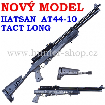 PCP Hatsan AT44-10 TACT LONG / 4,5 + puškohled GAMO 3-12x40