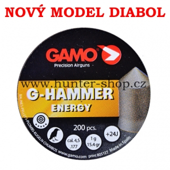 Diaboly - diabolky Gamo - G-HAMMER  - 200 / 4,50mm