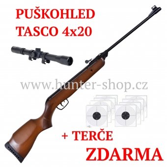 Vzduchovka Gamo 400 / 4,5 + PUŠKOHLED + TERČE zdarma