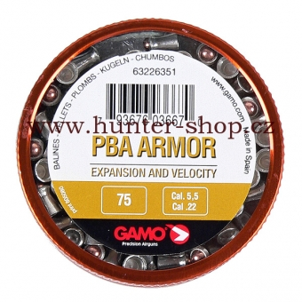 Diaboly - diabolky Gamo PBA ARMOR 75 / 5,5 mm