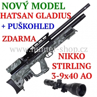 Větrovka - PCP Hatsan GLADIUS CAMO / 5,5