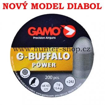 Diaboly - diabolky Gamo - G-BUFFALO  - 200 / 4,50mm