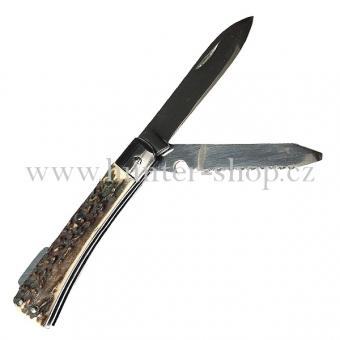 Lovecký kapesní nůž střední - dvě želízka