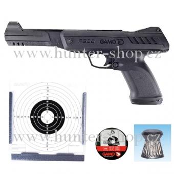 Vzduchovka Gamo - Gunset P 900  /4,5 +terče + lapač + 250 ks diabolek + diabolky zdarma (100 ks)