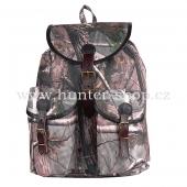 MYSLIVECKÝ - RYBÁŘSKÝ batoh obšitý kůží - REAL TREE - 20 L batoh Cortexin - 20 L