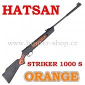 Vzduchovka Hatsan STRIKER 1000 S ORANGE / 4,5  + 1X  BALENÍ DIABOL 250/4,5 + TERČE zdarma