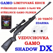Vzduchovka Gamo Shadow DX  set /4,5 - LIMITOVANÁ EDICE