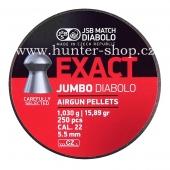 Diaboly - diabolky JSB Exact - jumbo 250 / 5,52 mm