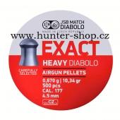 Diaboly - diabolky JSB Exact HEAVY 500 / 4,52 mm