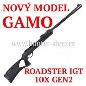 Vzduchovka Gamo ROADSTER IGT 10X GEN2 /4,5 + 100 terčů + diabolky Gamo Match 250ks zdarma