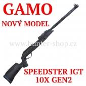 Vzduchovka Gamo SPEEDSTER IGT 10X GEN2 /4,5 + 100 terčů + diabolky Gamo Match 250ks zdarma