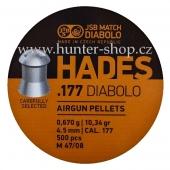 Diaboly - diabolky JSB - HADES - 500 / 4,50mm