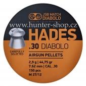 Diaboly - diabolky JSB - HADES - 150 / 7,62mm