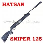 Vzduchovka Hatsan 125  SNIPER / 4,5 + PUŠKOHLED + TERČE zdarma