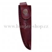 Pouzdro na nůž - dýku - Alpský zavazák - motiv smrková větvička