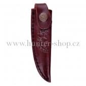 Pouzdro na nůž - dýku - Alpský zavazák - motiv žaludy s listy