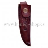 Pouzdro na nůž - dýku - Alpský zavazák - motiv srnec