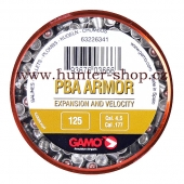 Diaboly - diabolky Gamo PBA ARMOR 125 / 4,5 mm