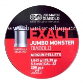 Diaboly - diabolky JSB Exact - jumbo  monster - 200 / 5,52mm