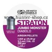Diaboly - diabolky JSB - JUMBO  MONSTER  STRATON - 200 / 5,50mm