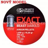 Diaboly - diabolky JSB Exact -  BEAST  - 250 / 4,52mm