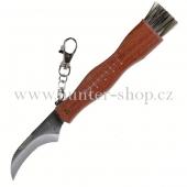 Houbařský nůž velký JKR 32 - hnědé dřevo