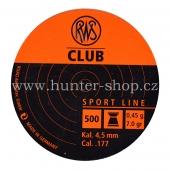 Diaboly - diabolky RWS Club 500  / 4,5 mm