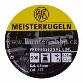 Diaboly - diabolky RWS Meisterkugeln 500  / 4,5 mm