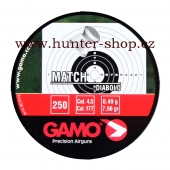 Diaboly - diabolky Gamo Match 250 / 4,5 mm