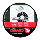 Diaboly - diabolky Gamo Match 500 / 4,5 mm