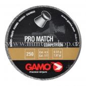 Diaboly - diabolky Gamo Pro Match 250 / 4,5 mm