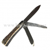 Lovecký kapesní nůž střední - tři želízka