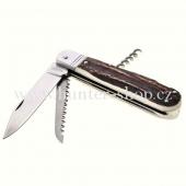 Lovecký nůž - Mikov 232 XH 3 V KP s vývrtkou a pojistkou
