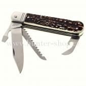 Lovecký nůž - Mikov 232 XH 4  KP s pojistkou